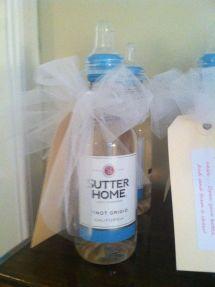 Baby Shower Favors Mini Wine Bottle