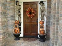 Outdoor Halloween Decorations | fall | Pinterest
