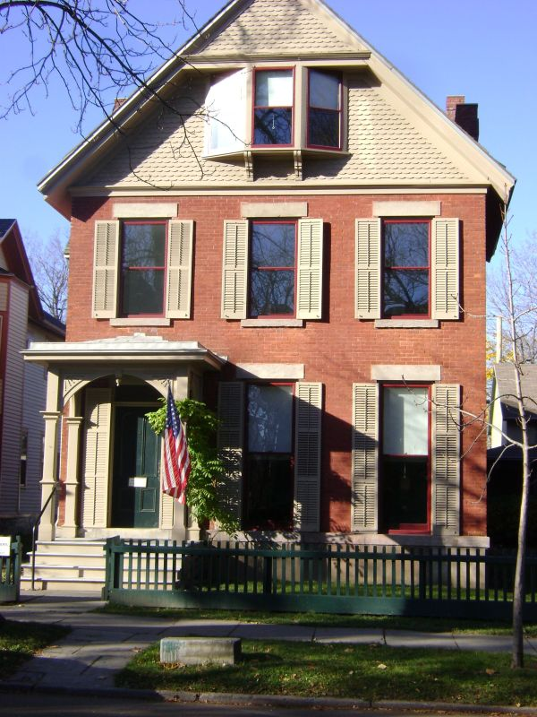 Susan . Anthony House - Rochester Ny Places & Spaces