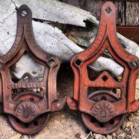 Antique Barn door hardware | decor | Pinterest