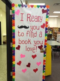 library door decoration | Library Ideas | Pinterest