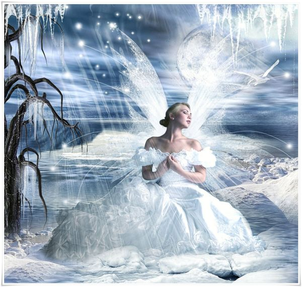 Fairy Snow Queen Fantasy