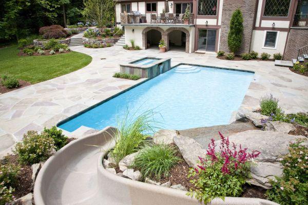 Backyard Pool Oasis Ideas