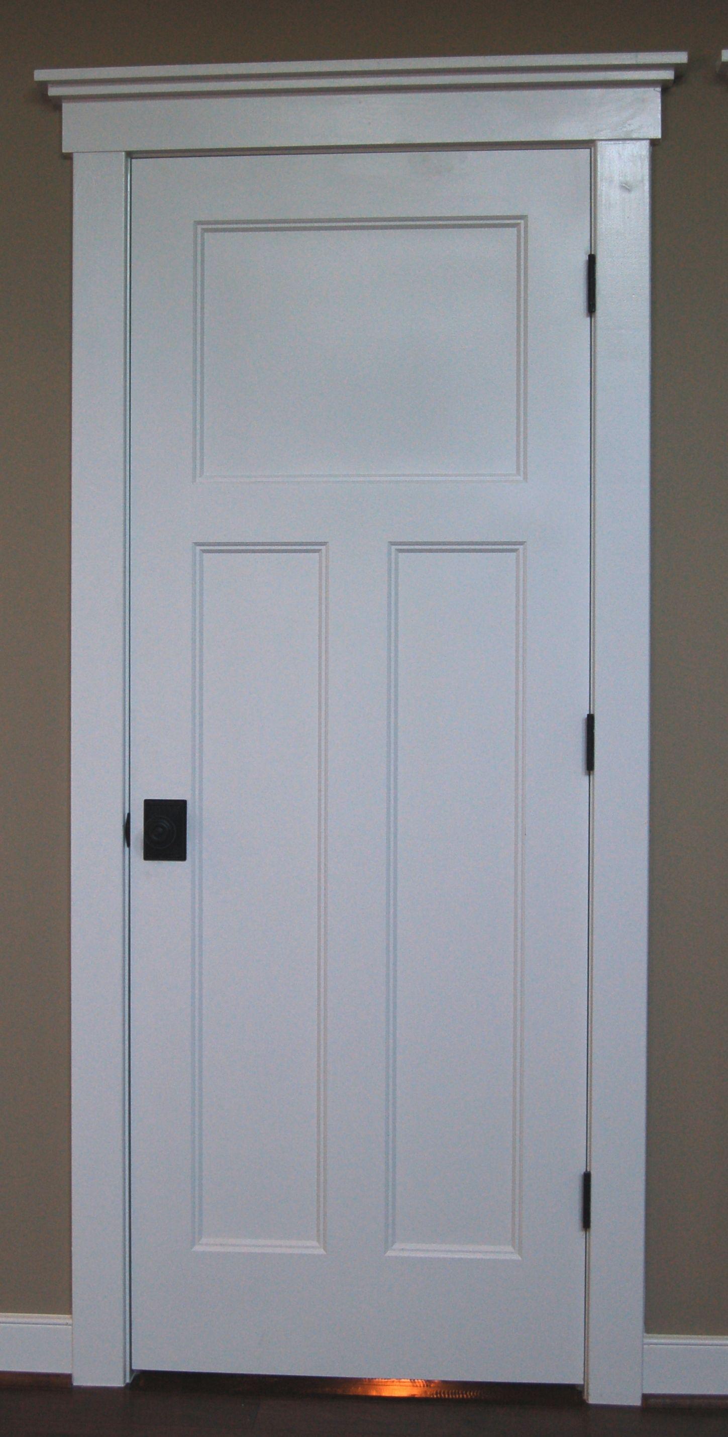 Craftsman style interior doors