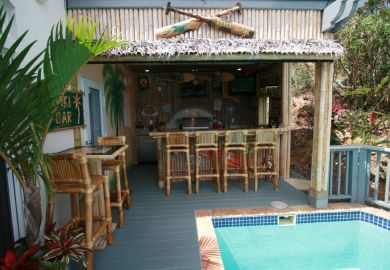 Outside Tiki Bar Ideas