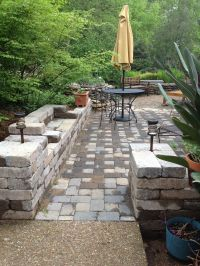 Simple Landscape: Tuscan style backyard landscaping