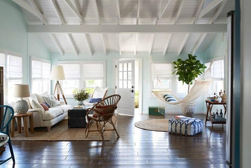 Hammock in a living room  Interiors  Pinterest