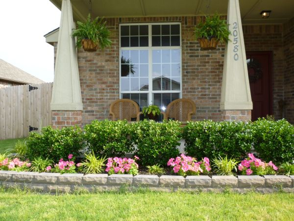 front porch landscaping