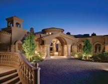 Tuscan Villa House Designs