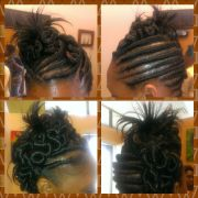 stuffed twist natural hair care