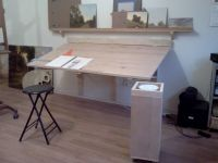 The gallery for --> Wall Mounted Drafting Table Plans