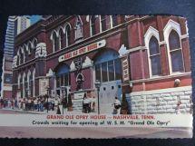 Grand Ole Opry House Nashville Tenn. Postcards Of U