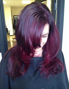 Pink purple hair wella colour shiny change cortes  peinados pinterest also rh