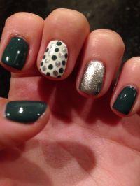 Easy Nail Polish Design | Glamour, Sparkle & Style | Pinterest