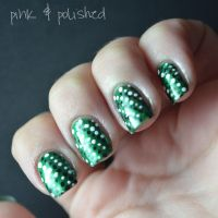 Nail Designs Green And Black