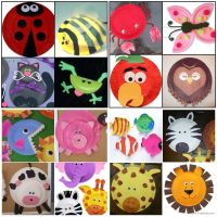 Paper plate animal crafts | Crafts - Paper Plate Animals ...