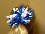 homemade hair bow creations