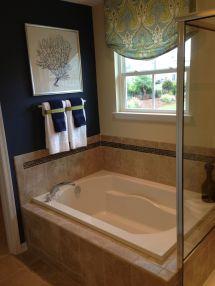 Model Home Bathroom Decor