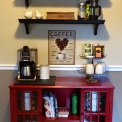 Coffee Bar In Kitchen Granite Countertops And Tea Crafts Furniture Pinterest