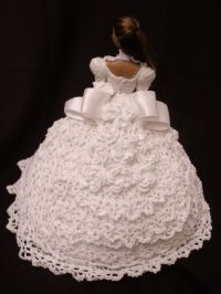 Free Crochet Pattern Barbie Wedding Dress ~ Traitoro for