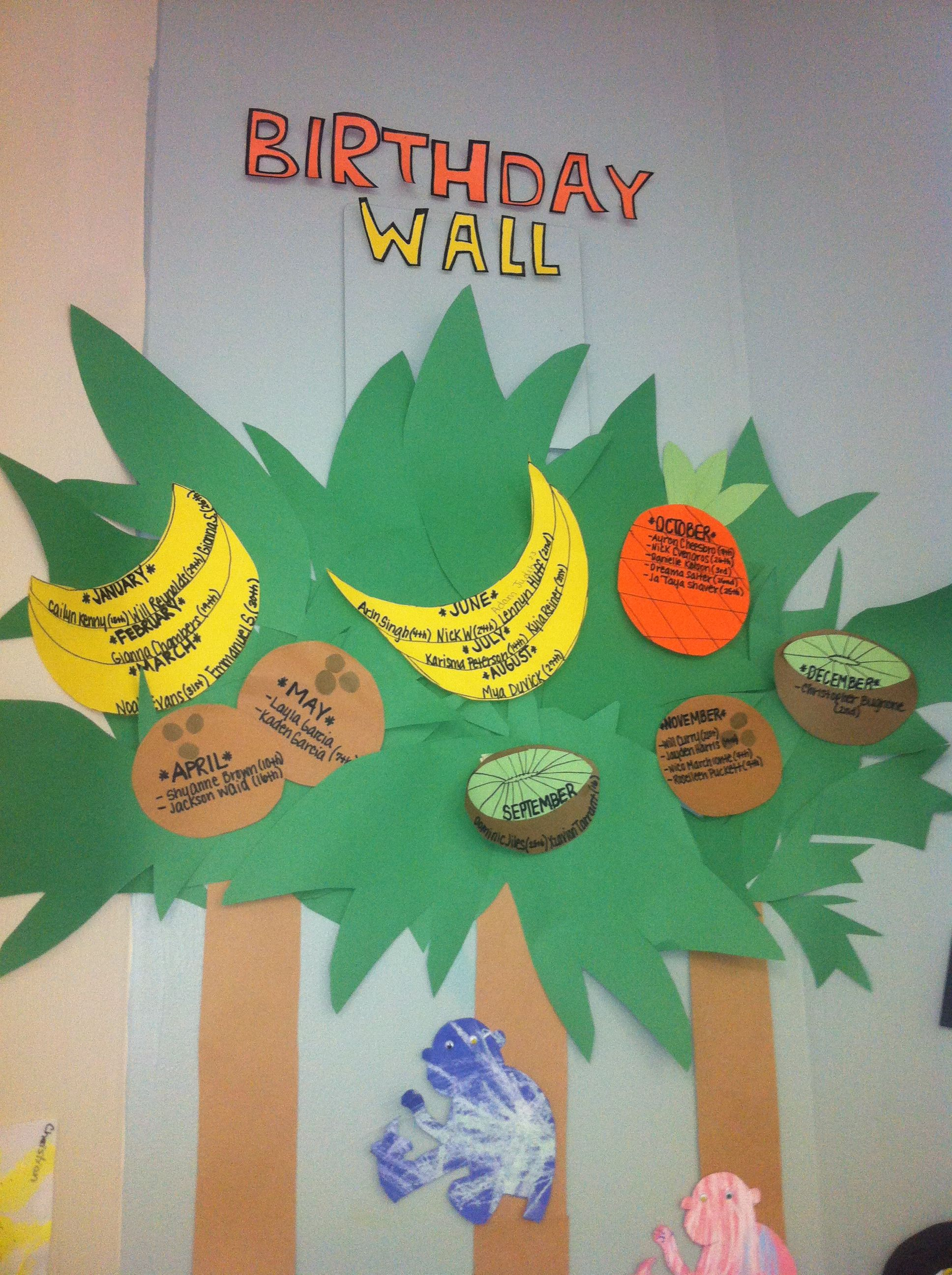 Our Coconut Birthday Tree For The Hawaiian Summer Theme