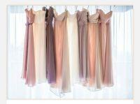 Neutral Bridesmaid Dresses | Bridesmaids | Pinterest