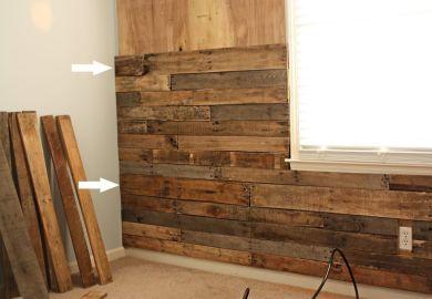 Wood Pallet Walls 55