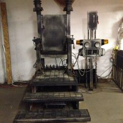 Vintage Electric Chair Pad Foam Haunted Asylum Pinterest