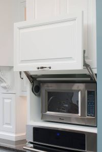 Microwave hideaway cabinet | For the Home | Pinterest