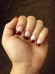 christmas acrylic nails beautiful