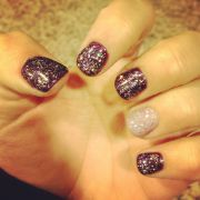 fall gel nails style