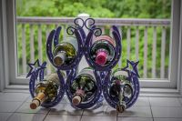 Homemade wine rack! | Crafty ideas | Pinterest