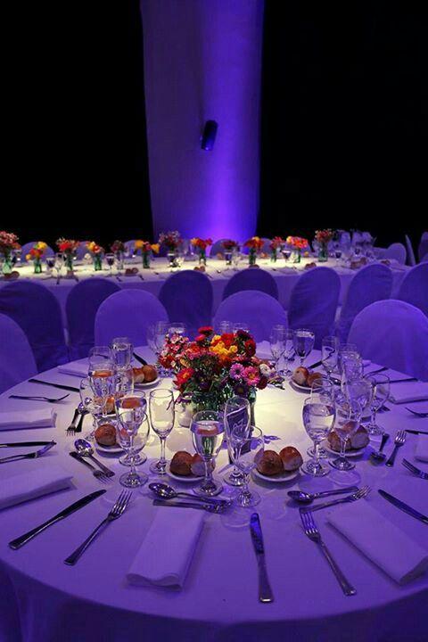 iluminat masa nunta