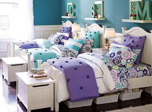 Pb Teen Girls Rooms Big Girl Sibling Room