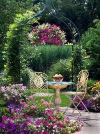 Shabby Chic Garden...   Flowers   Pinterest