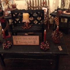 Country Primitive Sofa Tables Simmons Upholstery Dublin Briar Sectional Coffee And End Table Set Dads To Do List Pinterest
