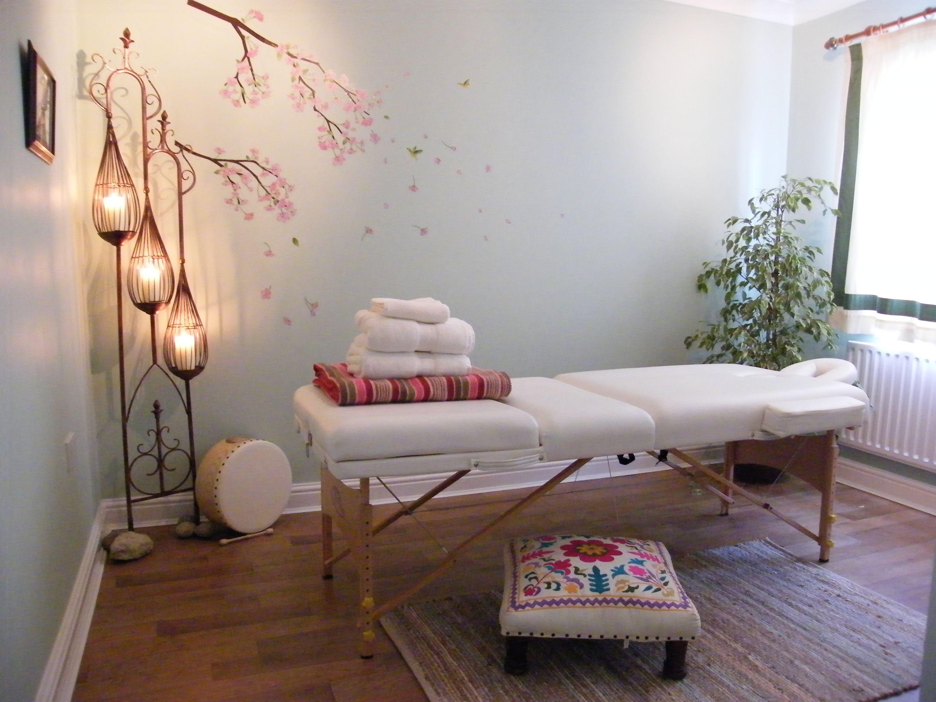 Reiki and Swedish Massage Therapy Room  Reiki and Healing