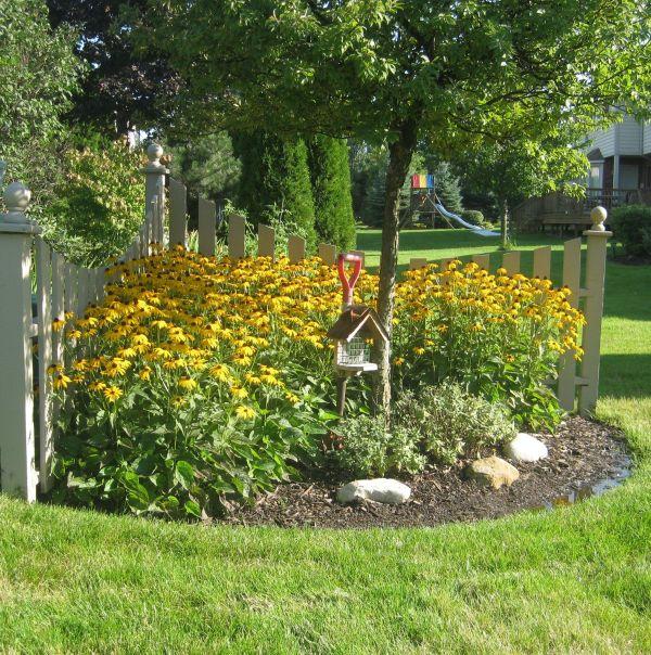 Corner Fence Built Years . Gardening Ideas