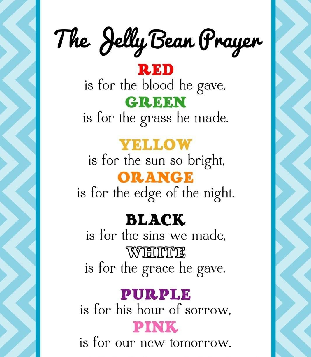 The Jelly Bean Prayer Quotes