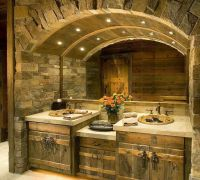 Rustic Bathroom | bathroom | Pinterest