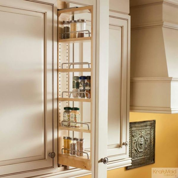 Kitchen Cabinets Pull Out Spice Rack