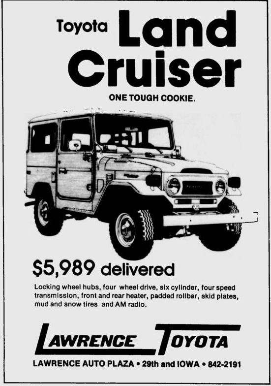 Land cruiser, Toyota land cruiser and History on Pinterest