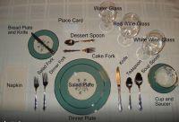 Table Setting Etiquette | Chopped | Pinterest