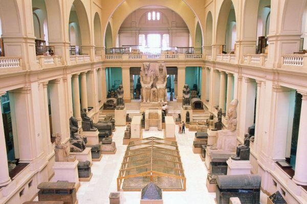 Museum Of Egyptian Antiquities Cairo