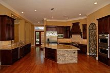 Artistic Large Kitchens - Home Plans & Blueprints