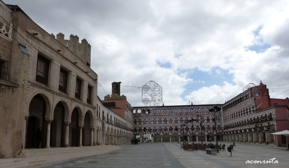 Badajoz. La Plaza Alta