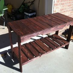 Diy Outdoor Sofa Table Throws Covers Ikea Cheap And Easy To Make Pallet Pallets Designs
