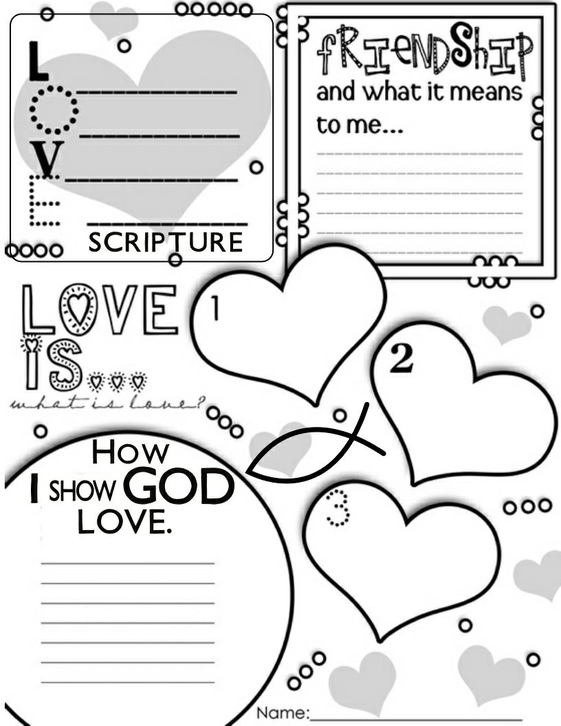 Happy Christian Home: Valentine's Day Resources for