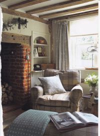 Pin by Bernard Toulgoat on Country cottage living-room ...