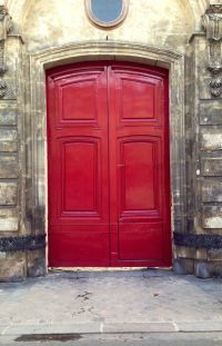 Big red doors | Red Doors | Pinterest
